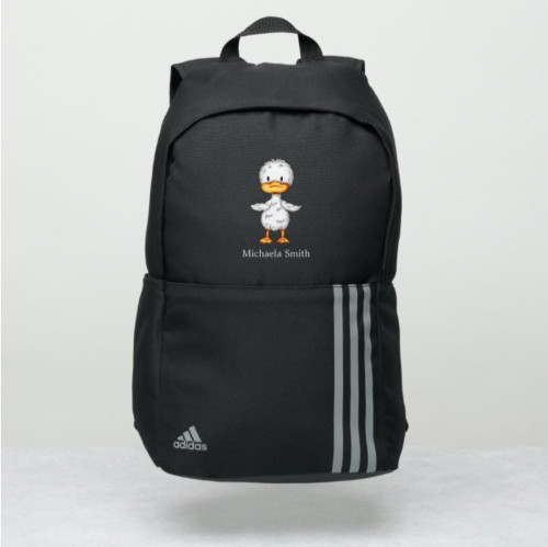 Cute Little Duckling Personalized Adidas Backpack