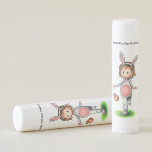Cute Easter Egg Hunt Party Favor Lip Balm