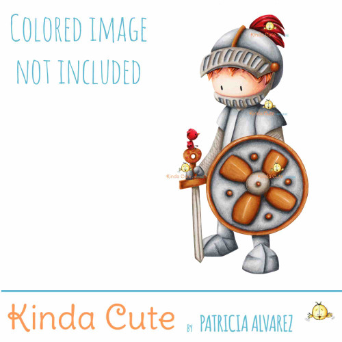 Knight digital stamp