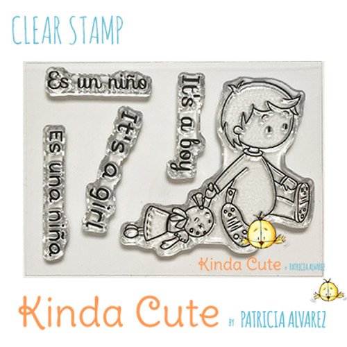 New baby clear stamp set. Kinda cute stamps