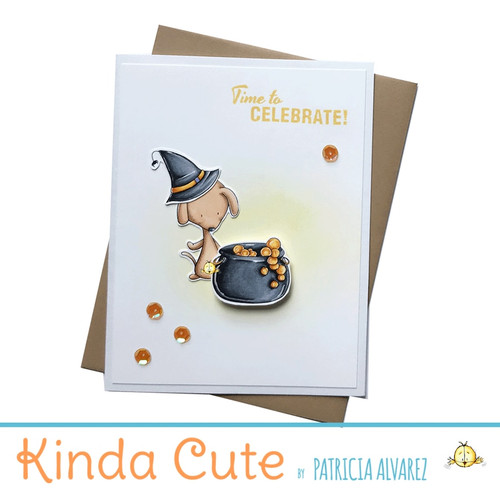Time to celebrate card. For halloween or birthdays.
