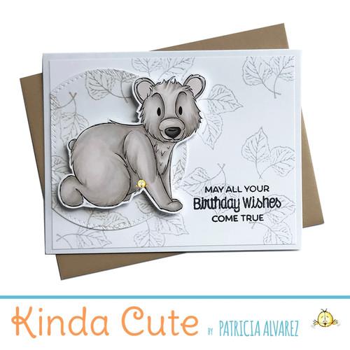 birthday card for bear lovers