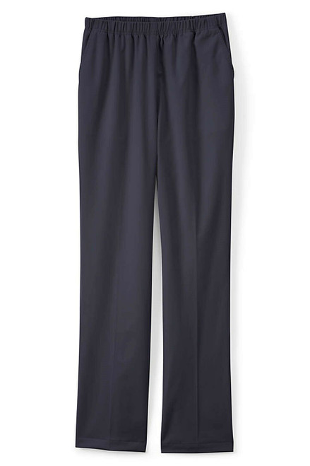 Lands' End 7 Day Elastic Waist Pull On Pants True Navy 18X32 NEW 435291