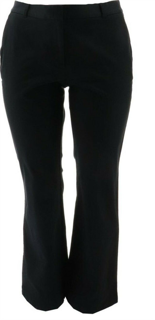 Lands' End WR FIT2 SO STRH CHINO TRS Black 6X32 NEW 407654