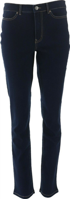Motto Stretch Denim 5-Pocket Straight-Leg Jean Midnight Wash 10 Avg NEW 630-649
