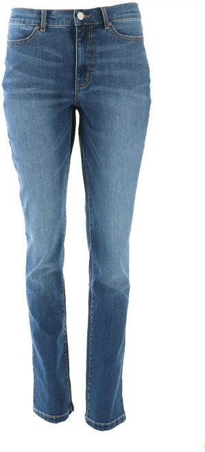 Motto Stretch Denim 5-Pocket Straight-Leg Jean Indigo Wash 10 Avg NEW 630-649