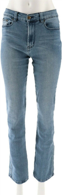 DG2 Diane Gilman Stretch Boot-Cut Jean Basic Colors Midtone 6 Tall NEW 567-176