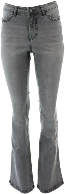 G Giuliana G-Sculpt™ 405 Boot-Cut Jean Valley Gray Wash 8 Avg NEW 663-655