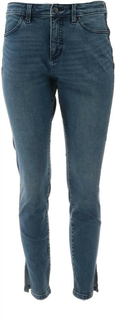 G Giuliana G-Sculpt™ 10 Ankle Jean Santa Monica Wash 8 Tall NEW 693-797