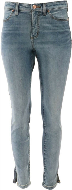G Giuliana G-Sculpt™ 10 Ankle Jean Melrose Wash 12 Tall NEW 693-797