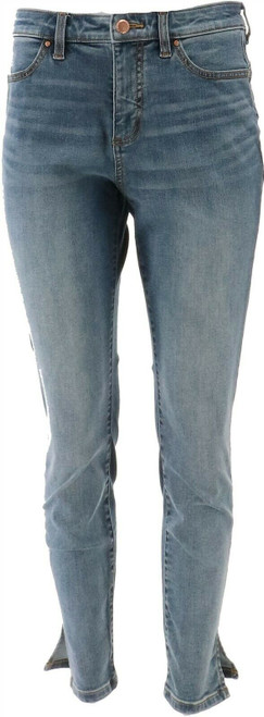 G Giuliana G-Sculpt™ 10 Ankle Jean LA Two Tone Wash 0 Petite NEW 693-797