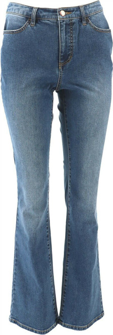 G Giuliana G-Sculpt™ 405 Boot-Cut Jean Malibu Wash 10 Avg NEW 663-655