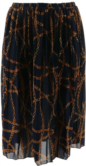 Antthony Dream in Color Pleated Skirt NEW 669-120