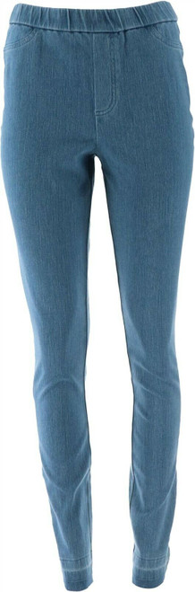 Isaac Mizrahi Tall Knit Denim Slim Leg Jeans NEW A311585