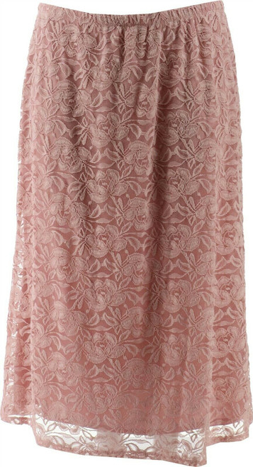 Antthony Silver Jubilee Lace Overlay Top NEW 658-467
