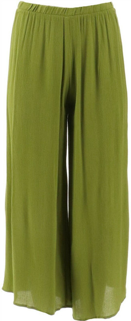 Antthony Culturally Styled Cropped Palazzo Pant NEW 658-437