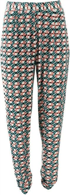 Antthony Culturally Styled Printed Pull-On Pant NEW 657-790