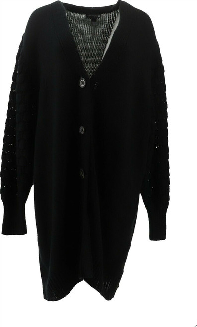 Antthony Glorious Gifts Her Textured Sweater Jacket NEW 679-250