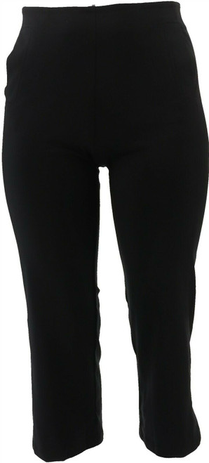 MarlaWynne Cropped Ponte Pant NEW 639-213