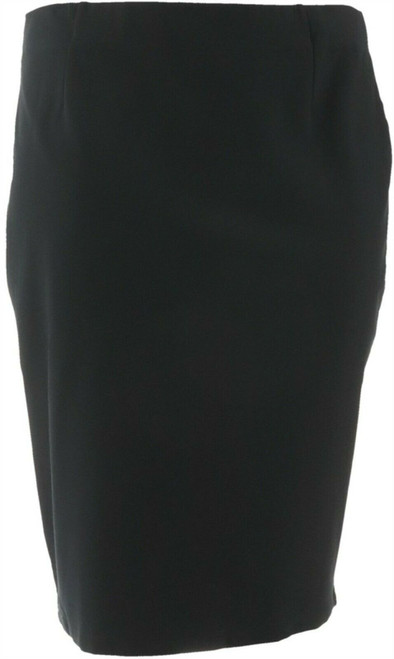BROOKE SHIELDS Timeless Ponte Knit Pull-on Pencil Skirt NEW A306637