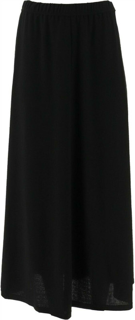 Linea Louis Dell'Olio Moss Crepe Pull-On Maxi Skirt NEW A341729