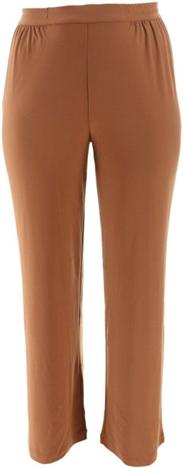 Linea Louis Dell'Olio Moss Crepe Pants NEW A273877