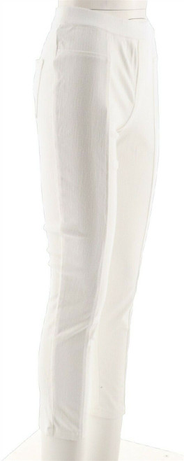 Isaac Mizrahi Knit Denim Pull-On Ankle Jeans NEW A289608