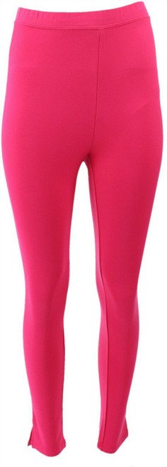 Susan Graver Weekend French Terry Ankle Leggings NEW A287695