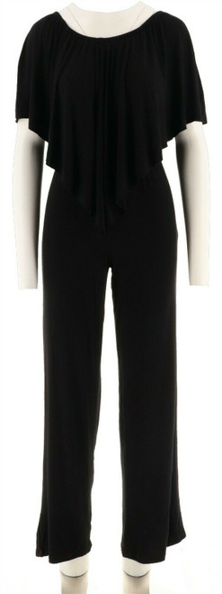 Laurie Felt Knit Jumpsuit Overlay NEW A295837