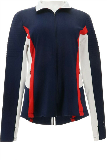 Fila Performance Catia Womens Jacket Zipper Pckts NEW 698-398