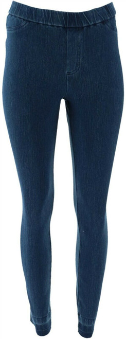 Isaac Mizrahi Knit Denim Slim Leg Jeans NEW A311583