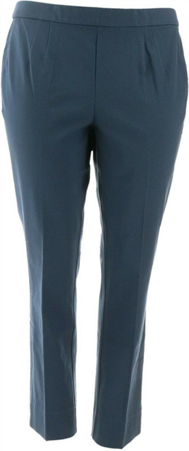 C Wonder Stretch Twill Pull-On Ankle Length Pants NEW A280606