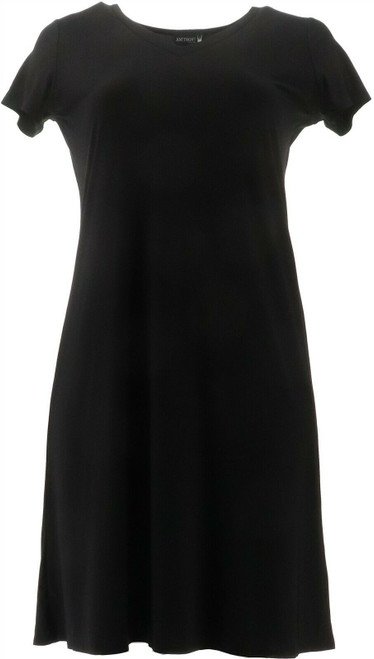 Antthony Double V-Neck Solid Midi Dress NEW 695-066