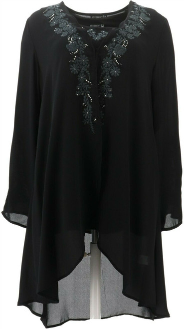 Antthony Embellished Jacket Tank 2-Pc Set NEW 690-740