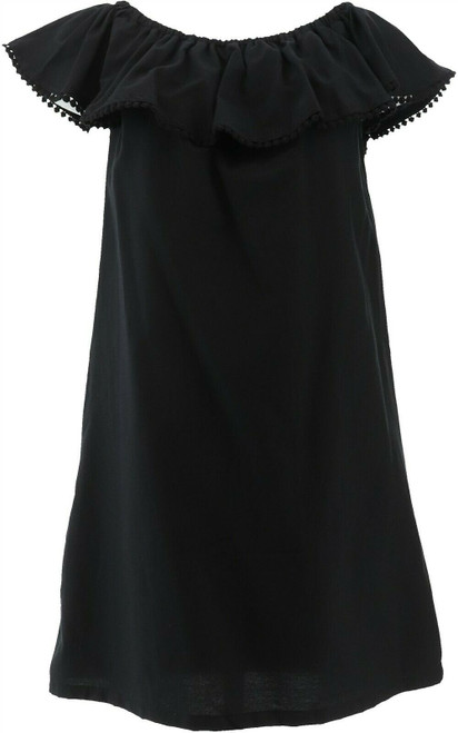 Colleen Lopez Palm Paradise Off-the-Shoulder Dress NEW 688-980