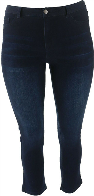 Motto Modern Stretch Denim 5-Pocket Cropped Jean NEW 648-759