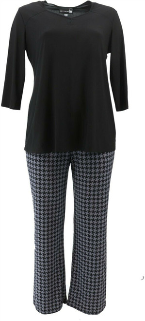 Antthony Timeless Textures 2Pc Top Pant Set NEW 623-091