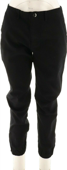 Lisa Rinna Banded Bottom Skinny Ankle Jeans NEW A294463