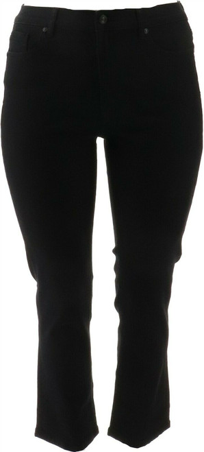 DG2 Diane Gilman Stretch Straight Ankle Jean Basic NEW 718-870
