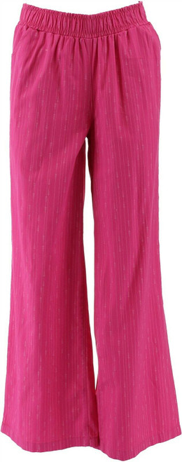 DG2 Diane Gilman SoftCell Denim Wide-Leg Pant Fashion NEW 697-542