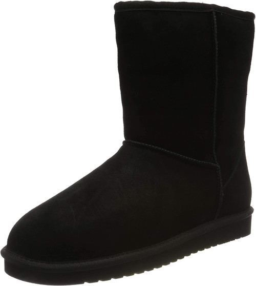 Koolaburra by UGG Women's koola Short Fashion Boot 6 Black NEW