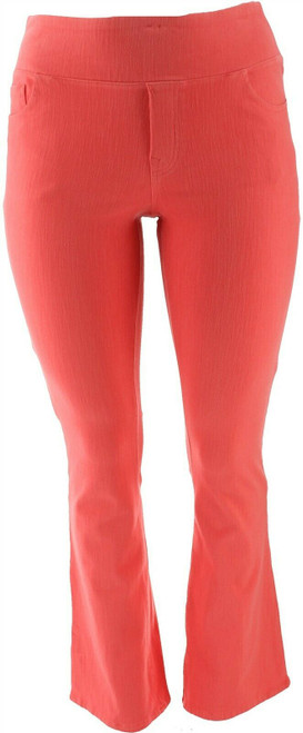 DG2 Diane Gilman Stretch Knit Twill Boot-Cut Jegging NEW 686-432