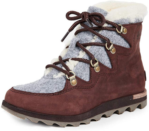 Sorel Women's Sneakchic Alpine Booties 6 Cattail NEW