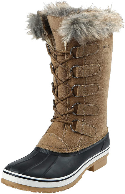 Northside Women's Kathmandu Waterproof Snow Boot 9 Gingerbread NEW