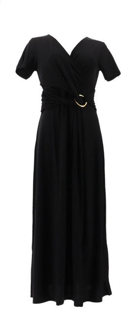 Antthony Jazzy Days Cap-Slv Maxi Dress NEW 597-218