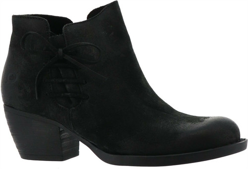 Born® Farnes Burnished Suede Ankle Bootie NEW 628-318