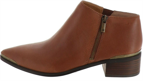 Lucky Brand Side Zip Leather Ankle Bootie NEW S9460