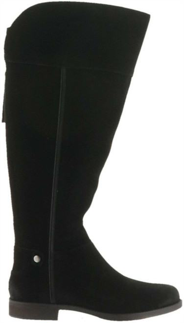 Franco Sarto Suede Wide Calf Tall Boots Christine NEW A284331