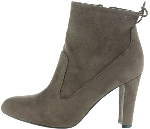 Marc Fisher Faux-Suede Ankle Boots Tie Justice NEW A279903