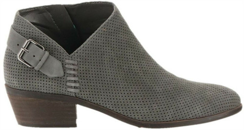 Vince Camuto Suede Booties Buckle Parveen NEW A311049